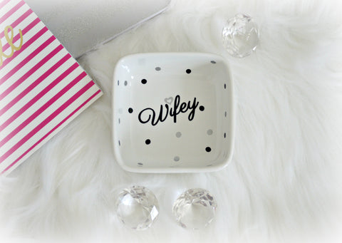 Wifey Ring Dish - love-in-the-city-shop