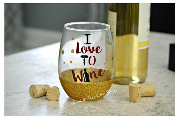 Love to Wine - Wine Lover Wine Glass - love-in-the-city-shop