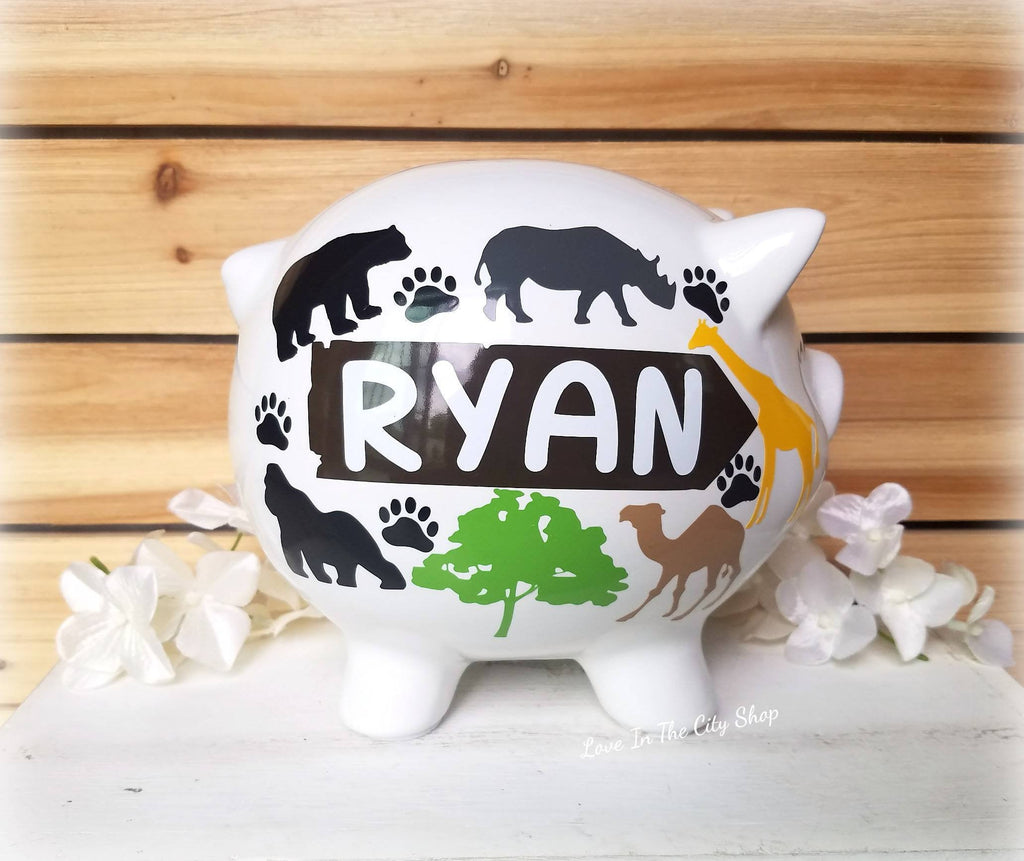 Sports Piggy Bank - love-in-the-city-shop