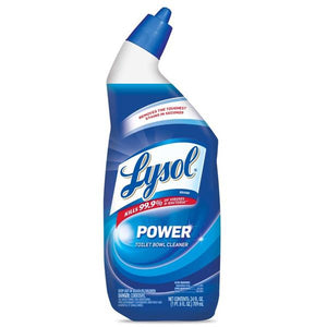 Lysol Power toilet bowl cleaner 24 oz.