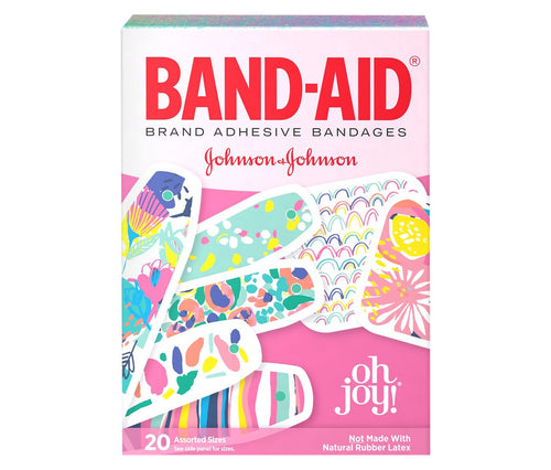 BAND-AID Oh Joy! Adhesive Bandages 20 ct.
