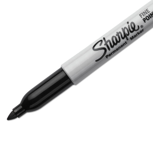 Sharpie Black Fine Point Permanent Marker Each