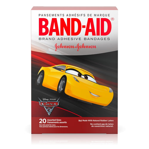 BAND-AID Cars Bandages 20 Ct