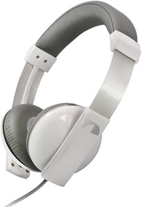 Nakamichi NK2000 Over Ear Amplified Headphones White