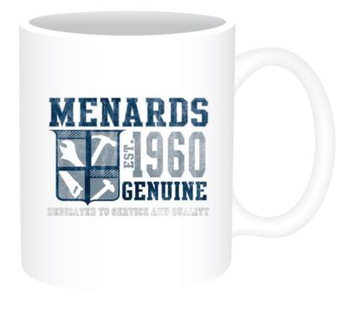 Menards Coffee Mug Est. 1960 Design