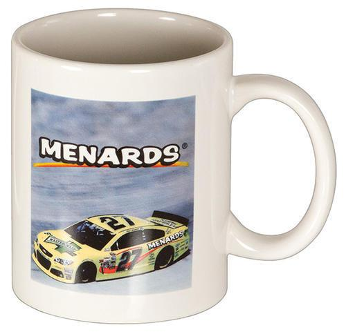 Menards Coffee Mug Race Car Design