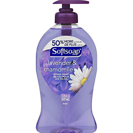 Softsoap Lavender and Chamomile hand soap 11.25 oz.