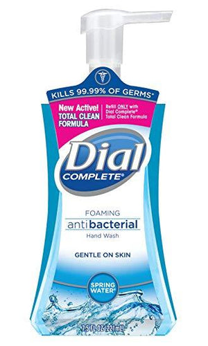 Dial Complete Spring Water foaming hand soap 7.5 oz.