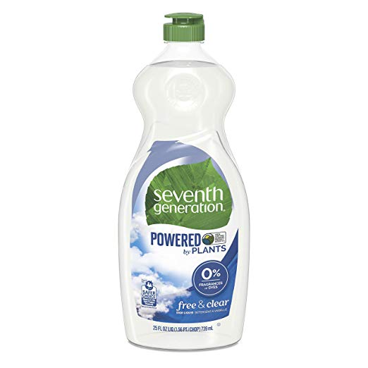 Seventh Generation Free & Clear Liquid Hand Dish Soap 25 oz.