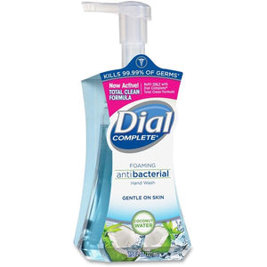 Dial Complete Coconut Water foaming hand soap 7.5 oz.