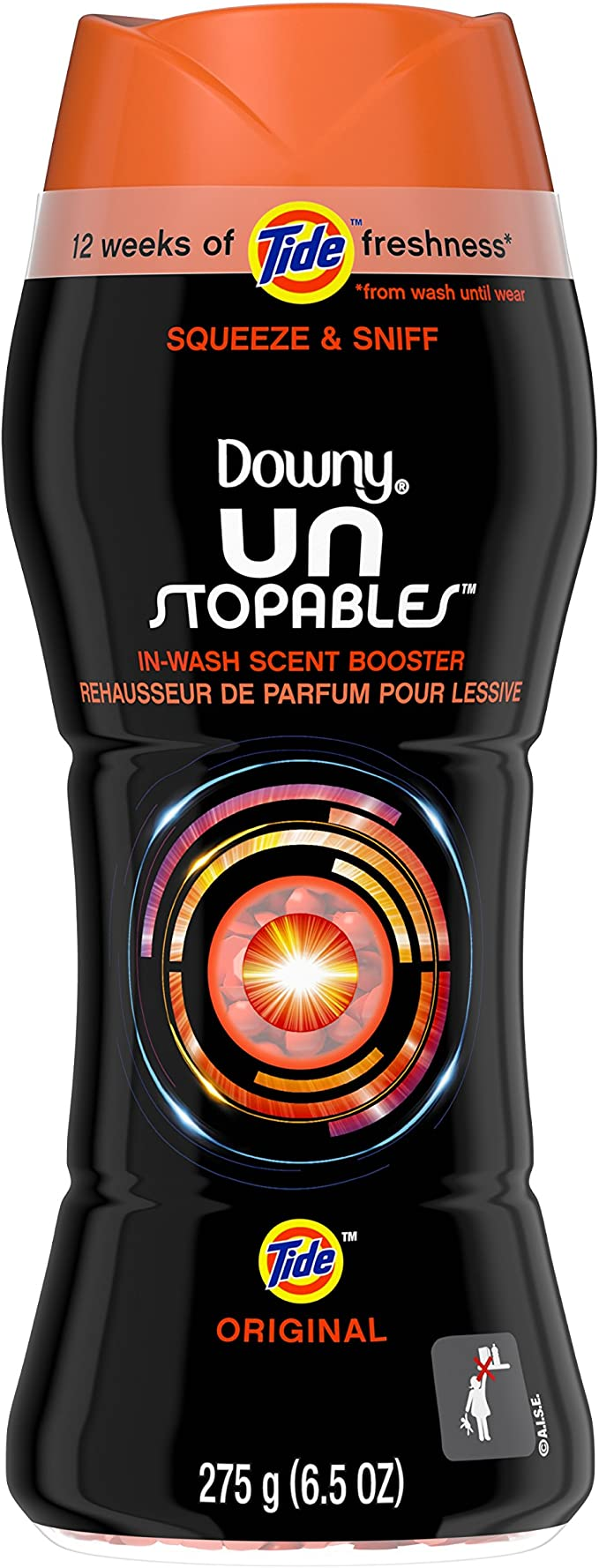Downy Unstoppables In-Wash Scent Booster Tide Original 6.5 oz.