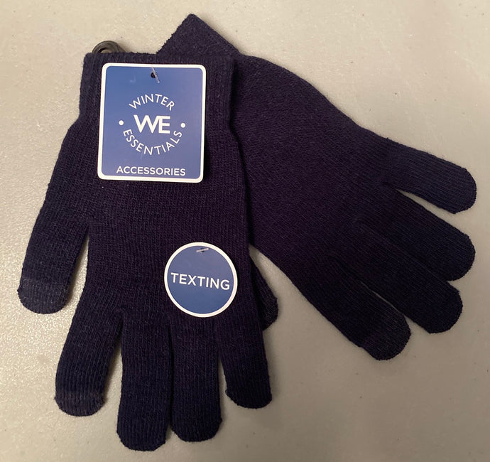 Winter Essentials Blue Texting Gloves