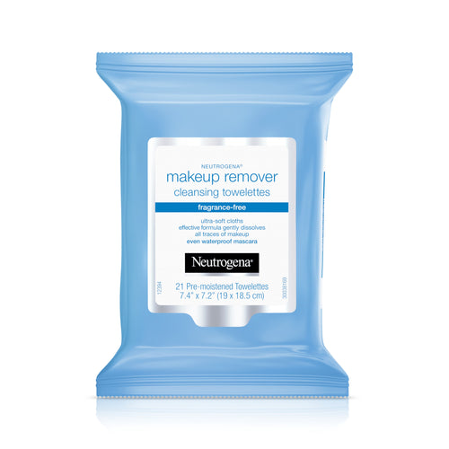 Neutrogena Makeup Remover Cleansing Towelettes Fragrance-Free 21 ct.
