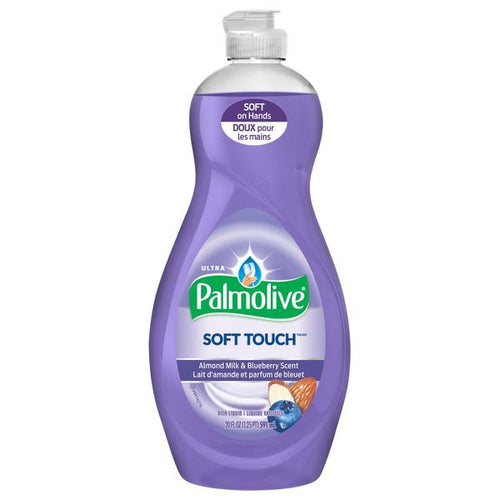 Palmolive Soft Touch Almond Milk and Blueberry Scent dish liquid 20 oz.