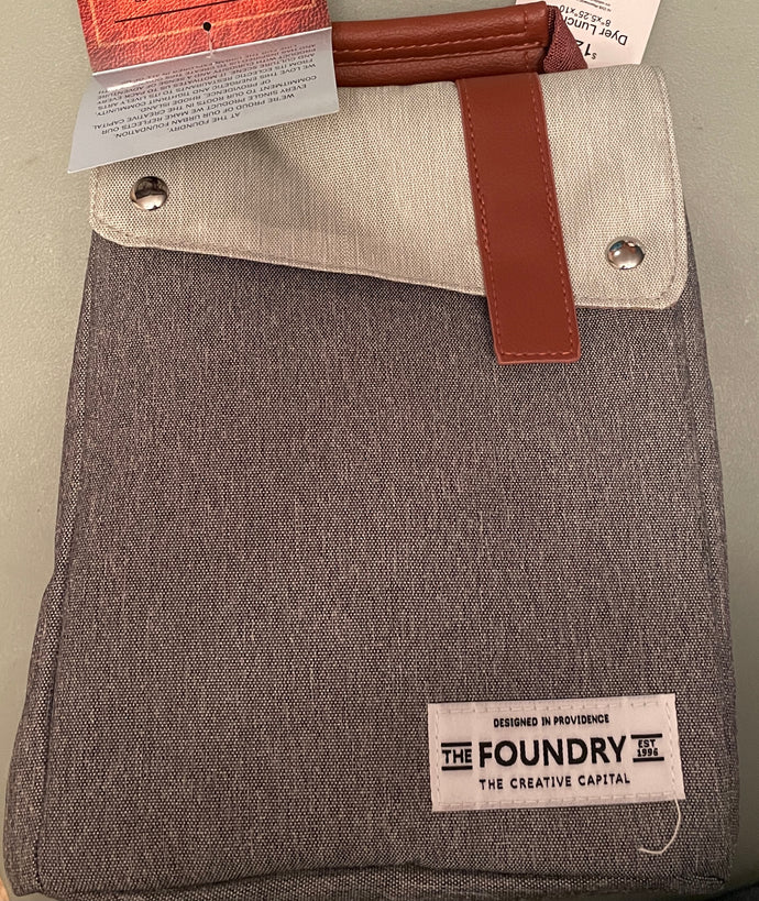 The Foundry Insulated Lunch Bag Grey