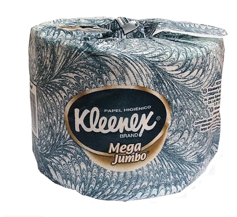 Kleenex Mega Jumbo bath tissue single roll