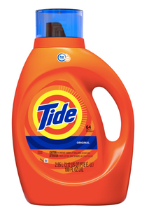 Tide Original Scent HE Liquid Detergent 64 loads