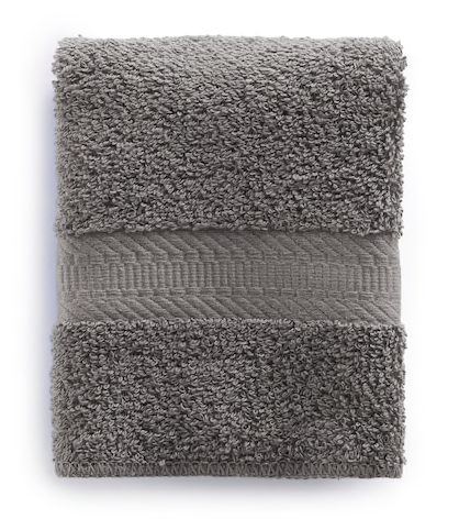 The Big One Wash Cloth Medium Gray