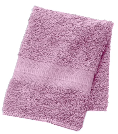 The Big One Wash Cloth Light Purple
