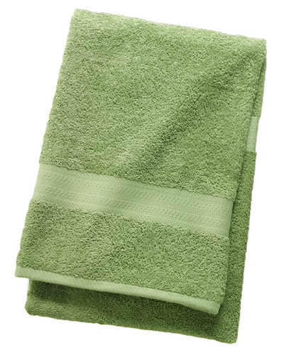 The Big One Solid Bath Towel Green