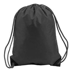 Black Drawstring Bag