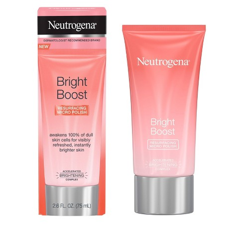 Neutrogena Bright Boost Resurfacing Micro Polish 2.6 oz.