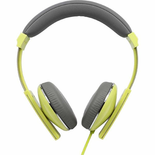 Nakamichi NK2000 Over Ear Amplified Headphones Green/Yellow