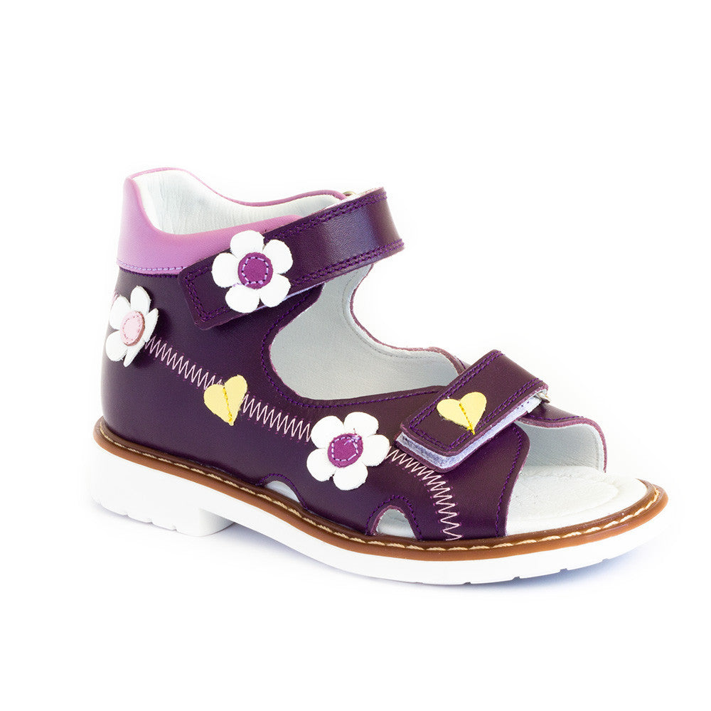 Hero image for JANEY MAY (PURPLE) girls' polished purple shoes