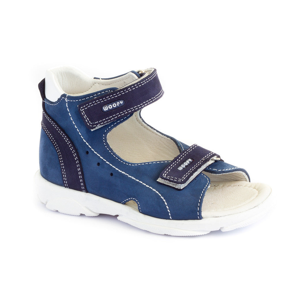Hero image for TINY TREKKER (BLUE) active kids sandals