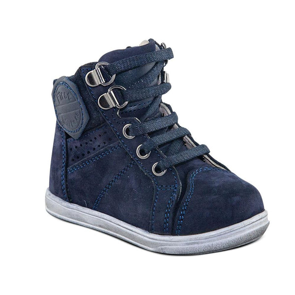 Hero Image for KIDDIE KUDOS navy orthopaedic high-top sneakers