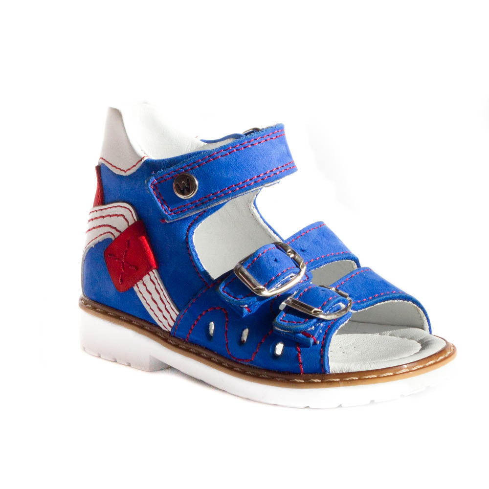 Hero image for Lewis Marine blue anatomic sandals