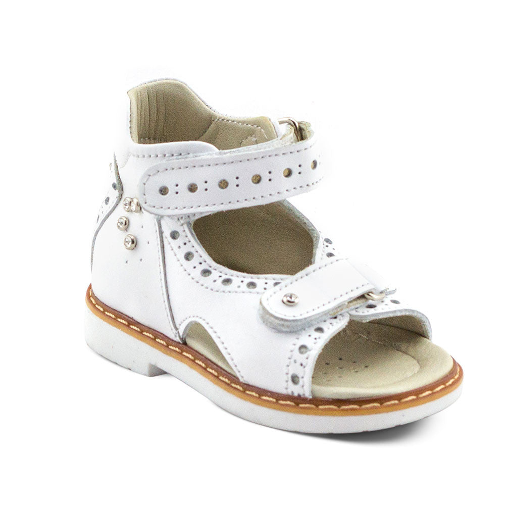 Hero Image for ROYAL GEMMA delicate all-white sandals