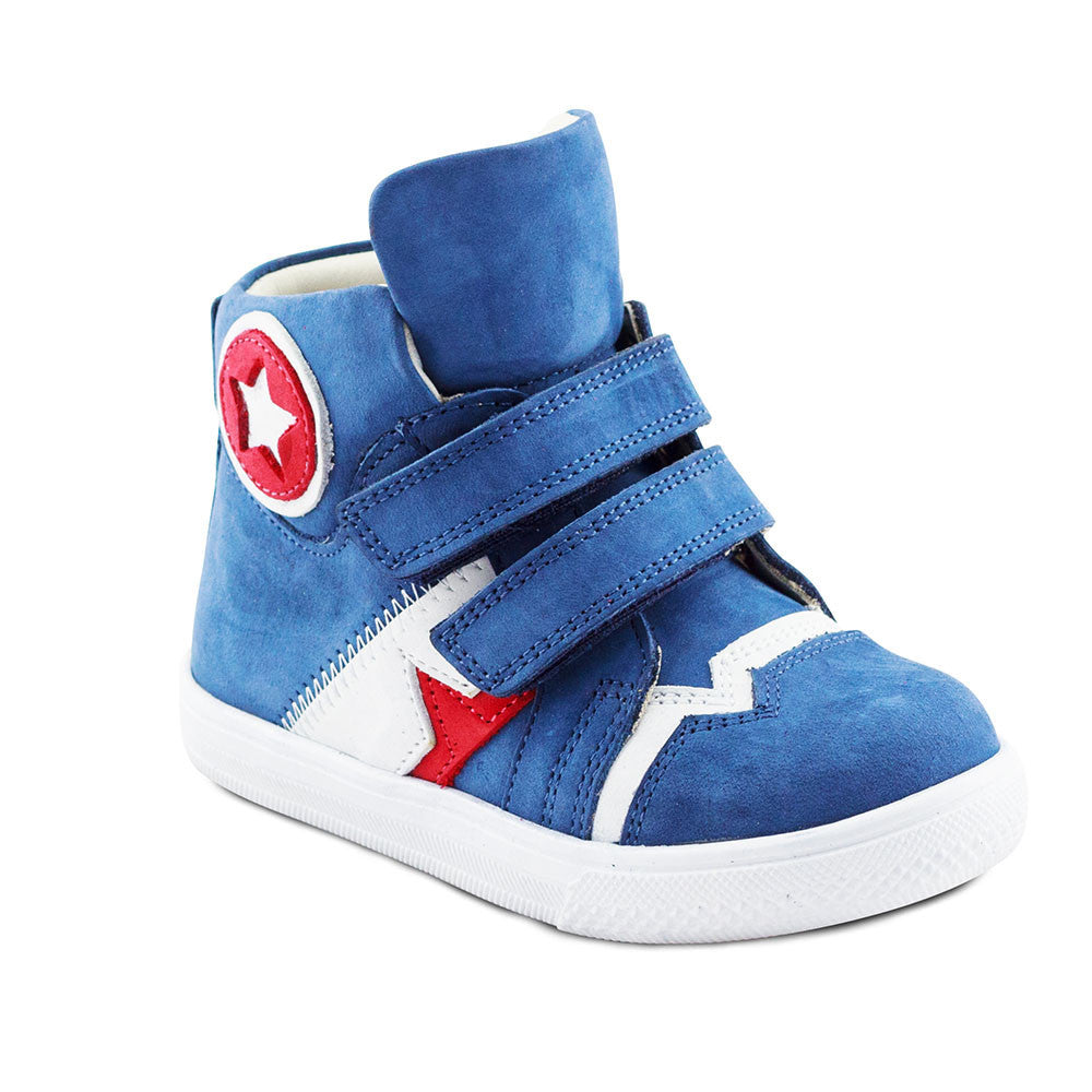 Hero Image for CAP LEVI denim-blue high-cut sneakers