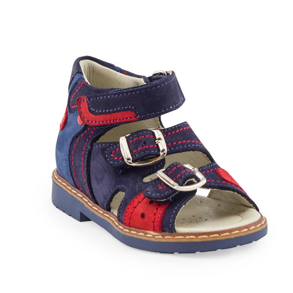 Hero Image for ELIJAH GRAND navy orthopaedic sandals