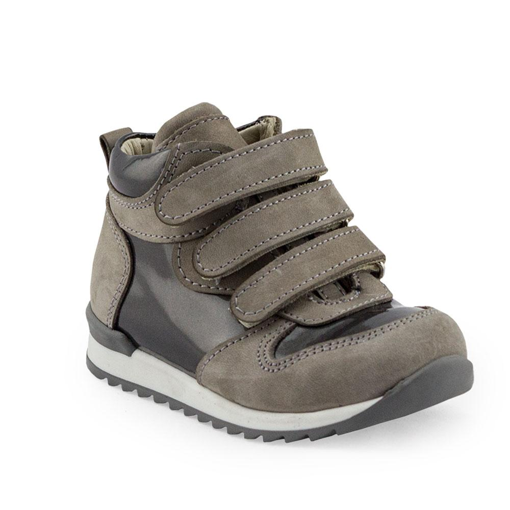Hero Image for NATTY KYLE grey orthopaedic high-top sneakers