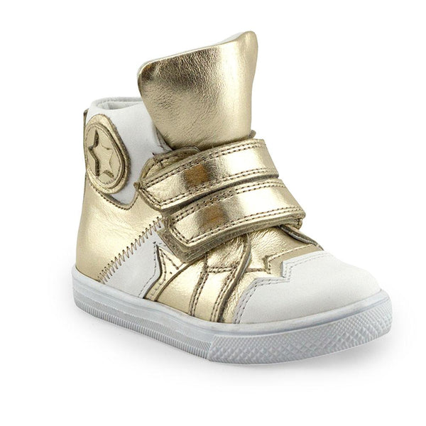 Hero Image for OLYMPIC SOPHIA gold orthopaedic high-top sneakers