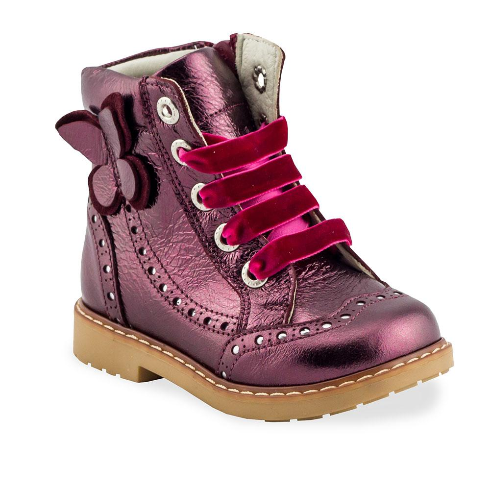 Hero Image for RUBY MADELYN red gold orthopaedic high-top boots