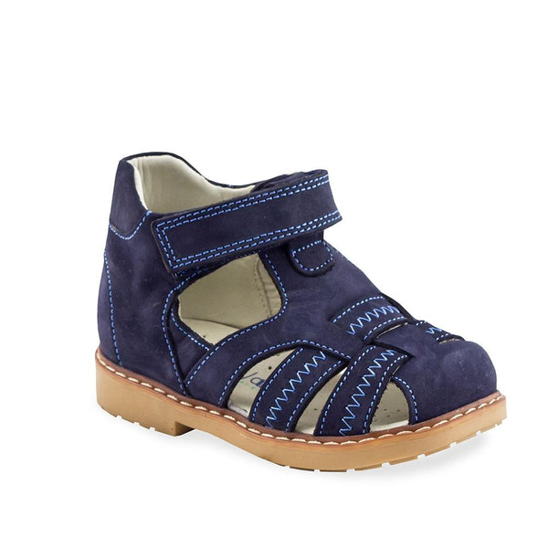 Hero Image for DANDY DOMINIC dark blue orthopedic closed-toe sandals