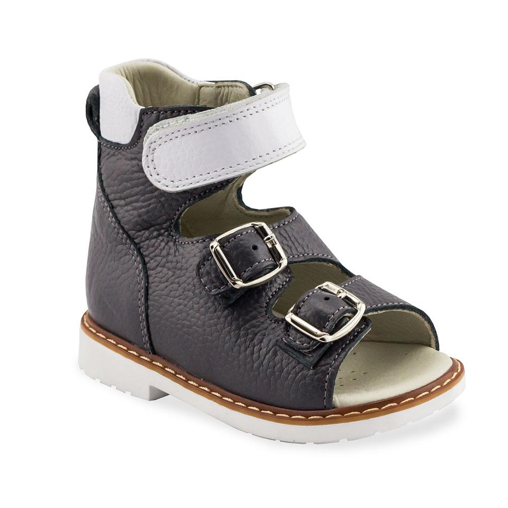 Hero Image for CHARCOAL ADRIAN dark grey orthopaedic high-top sandals