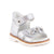 Hero Image for ROSIE TIN TIN silver orthopaedic sandals