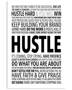 *One Life to Hustle Poster