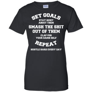 Set Goals - Smash Them Women's Shirt