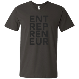 Entrepreneur Men's Printed V-Neck T-Shirt