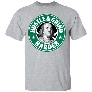 HustleBucks Hustle & Grind Harder Shirt