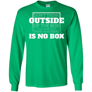 Think Outside of the Box Long Sleeve Shirt