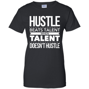 Hustle Beats Talent Women's Shirt