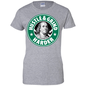 HustleBucks Hustle & Grind Harder Women's Shirt