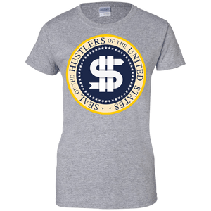 Hustler Presidential Seal Women's Shirt