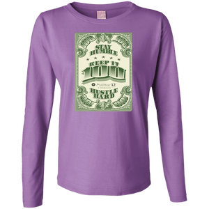 Keep it 100 - Money Edition - Women's Long Sleeve Shirt