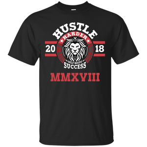 Hustle Harder Lion Shirt
